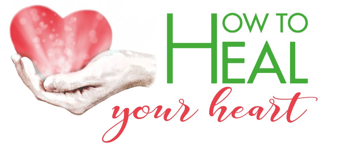 howtohealyourheart logo with text
